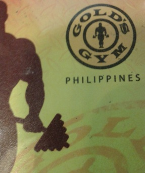 Yes that's really my gym card. It's not card-shaped because I cropped the pic.