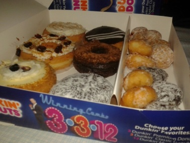 Dunkin' Donuts Philippines 3-3-12 Promo