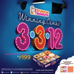 Dunkin Donuts 3-3-12 promo
