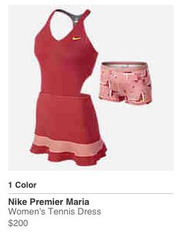 Maria Sharapova Australian Open 2015 Nike outfit