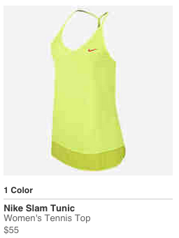 Serena Williams 2015 Australian open Nike Outfit