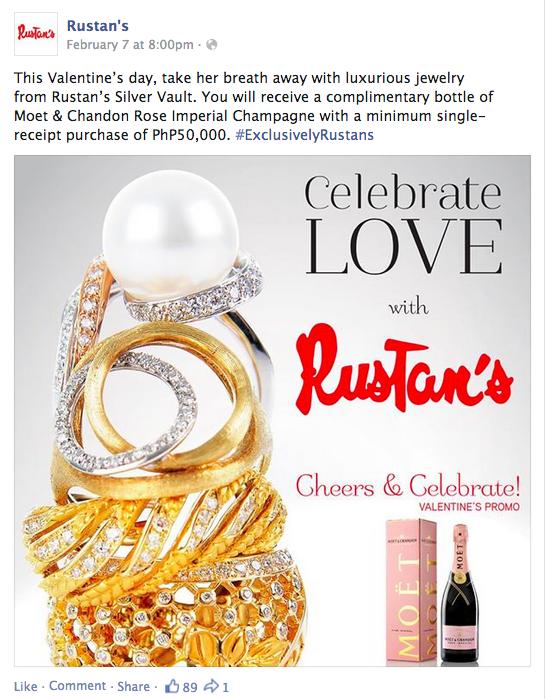 Rustan's Silver Vault Valentine's Promo