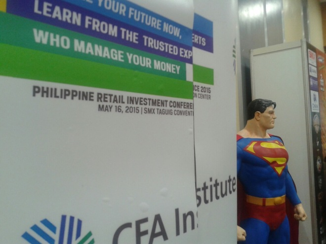 Philippine Retail Investment Conference 2015 with Superman