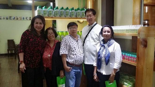Fely Viloria Sicam visits Plantex I Care Cooperative