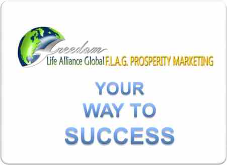 FLAG prosperity logo