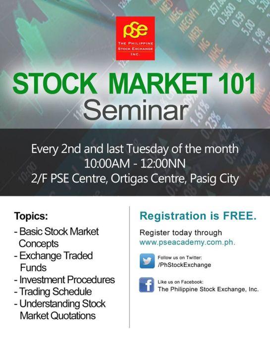 stock market 101 seminar