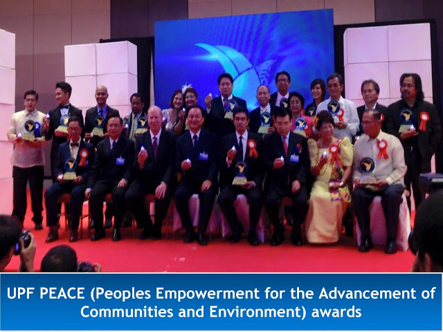 Universal Peace Federation PEACE awards