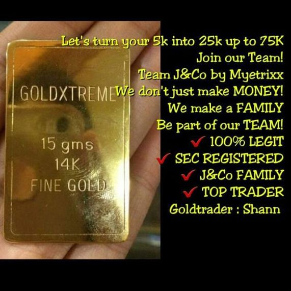 GoldXtreme 14K 15gm gold bar