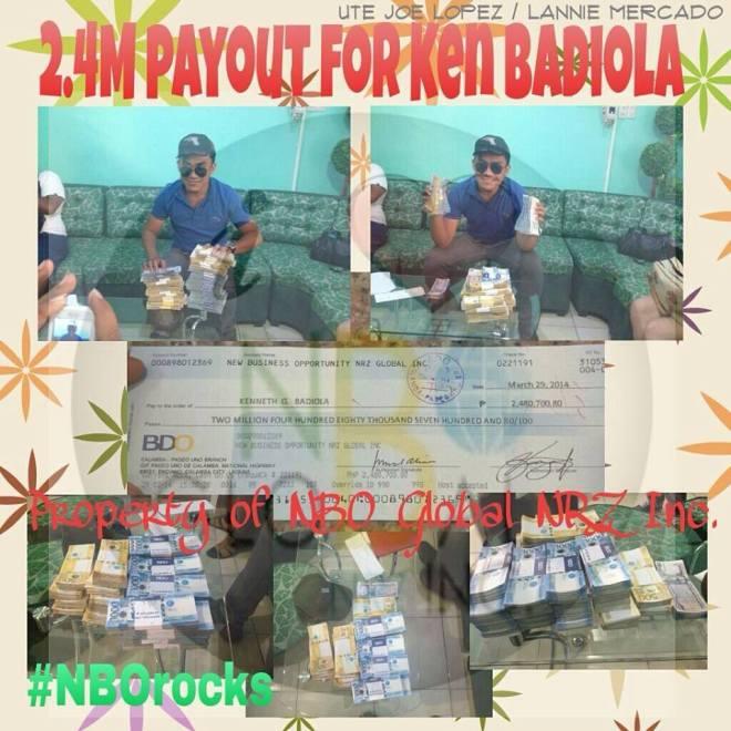 Ken Gomez Badiola earned millions from NBO Global