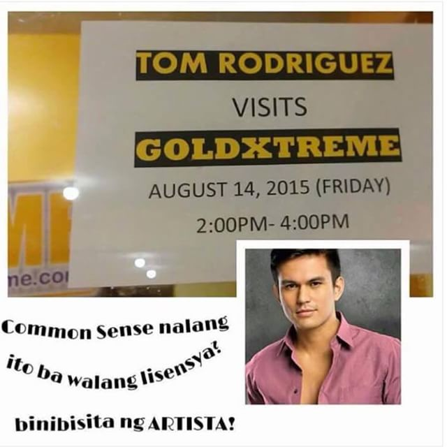 Tom Rodriguez scheduled to guest in Goldextreme
