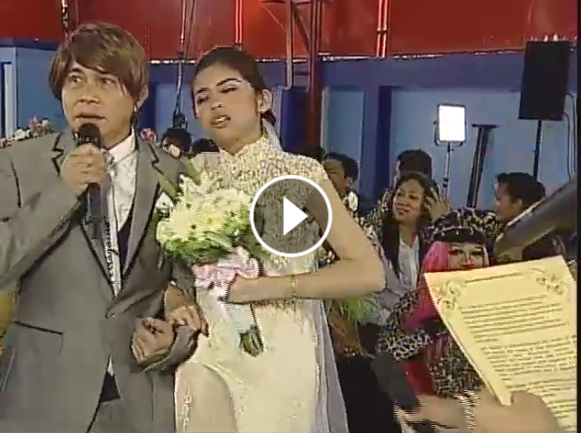 Yaya Dub Faints for real on Yakie Wedding